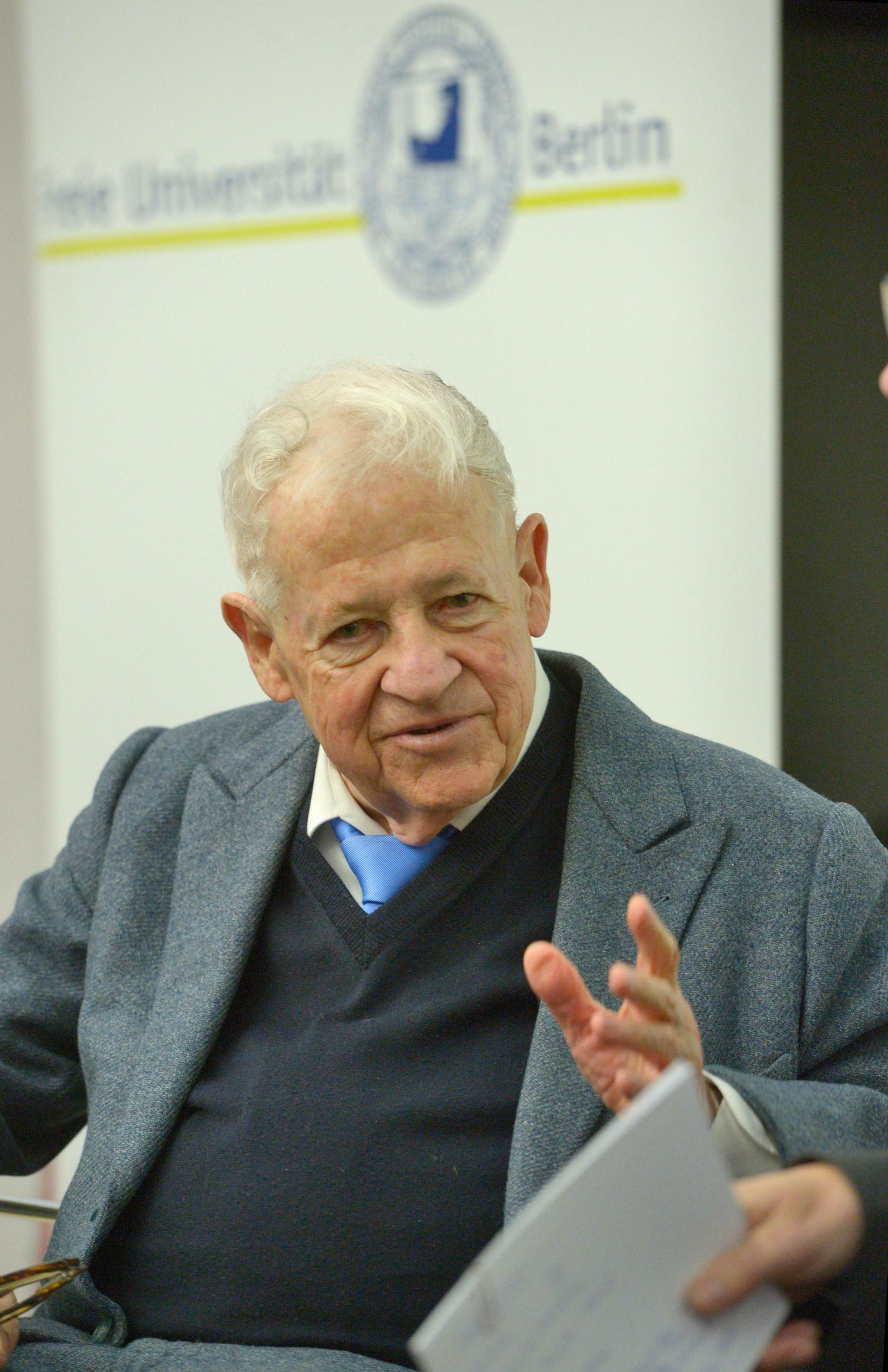 Klaus Heinrich FU Berlin Festivitäten zum 90. Geburtstag